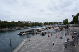 River Boats docked near Pont d'Lena in Paris.jpg