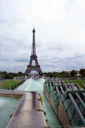 Missiles of Trocadero Gardens Pointed Towards the Eiffel Tower.jpg