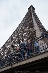 Tourists Taking Pictures of Paris from Eiffel Tower Second Level.jpg