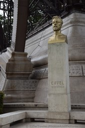 Gustave Eiffel Head Bust at the ground level under the Tower.jpg