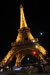 Eiffel Tower at Night next to the Moon.jpg