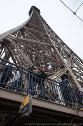 Looking towards the Summit of Eiffel Tower from Second Floor lower level.jpg