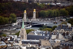 Pont Alexandre III Bridge viewed from Eiffel Tower.jpg