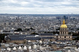 Les Invalides & Musee de l'Armee Seen from Eiffel Tower.jpg