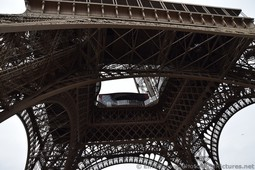 Looking up from under the Eiffel Tower.jpg